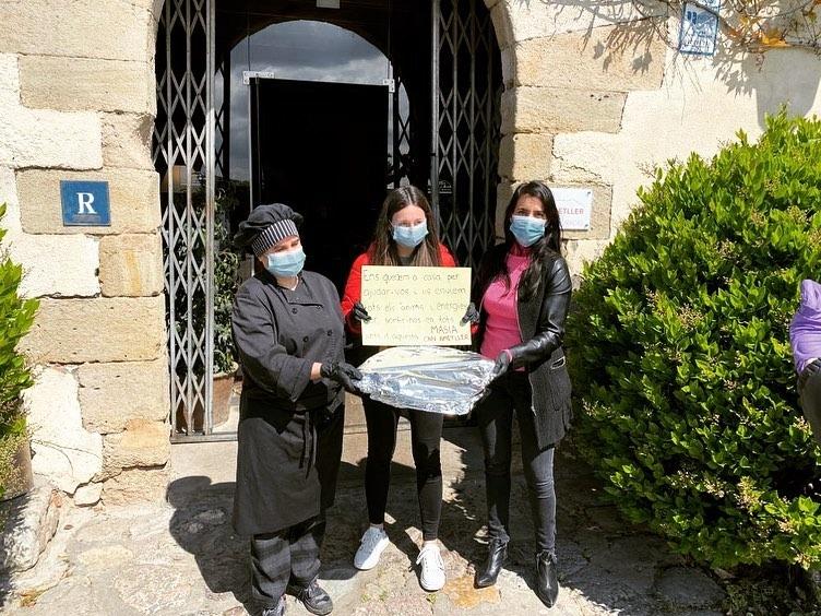 Enviat un paquet gastronòmic a l'Hopistal General de Catalunya